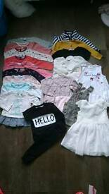 Baby girl clothes 6-9