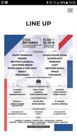 2x VIP Tickets For Cool Britannia & Accomdation