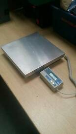 Set of wedo paket 50 electronic postage or parcel scales