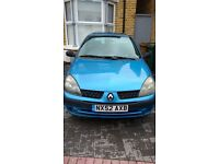 Renault Clio Expression 16V. Cheap London runabout!