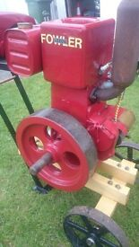Stationary Engines for Sale Fowler 1PA, Lister D and Petter A1