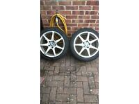 Bmw 17'' alloy wheels