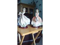 Pair of Romane Collection figurines