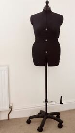 Dressmakers Dummy Medium UK 16-22 Deluxe Catwalk Dressform HARDLY USED!