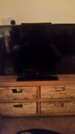 32inch t.v with built-in d.v.d player.
