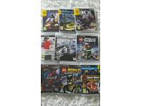 Ps3 games x 9 Lego GT5 Batman starwars