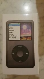 NEW (Sealed-never opened) Black Ipod Classic 160gb 7th Gen