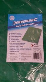 2 mtr x 3 mtr Heavy duty waterproof and tear-proof laminated tarpaulin.