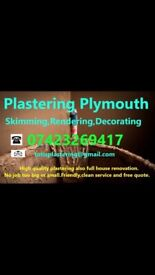 Plastering Plymouth