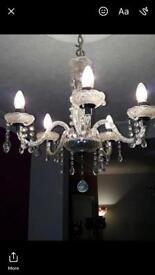 Debenhams chandeliers