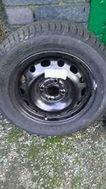 Brand new wheel and tyre 175/65/14