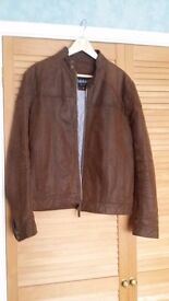 Men's Leather Jacket Size 38 in excellent condition
