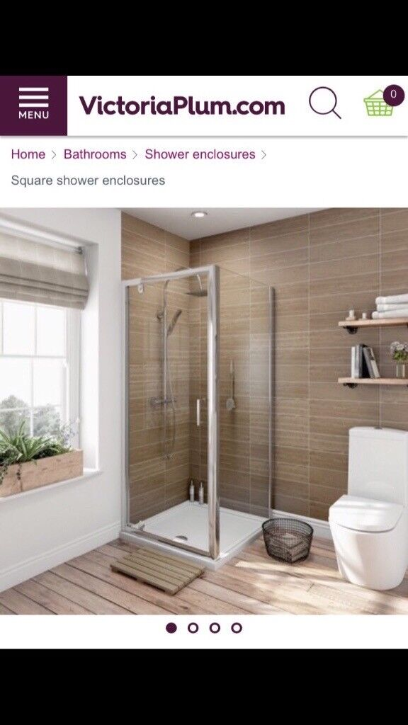 Brand new shower enclosure tray and waste from Victoria Plumb! | in ...