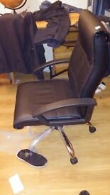 office leather swivel chair for sale