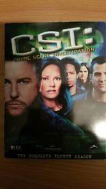 CSI: Complete Fourth Season DVD Boxset 2001 Region 1 US Import