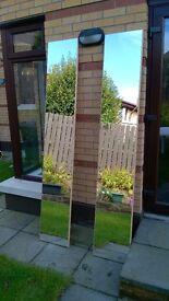 Free stading mirrors