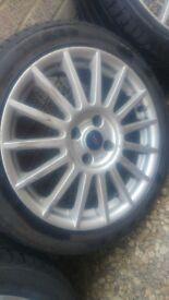 "17"" Ford Alloy Wheels"