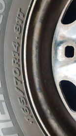 Tyres 3x165x70x14