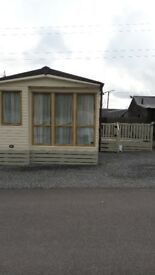 Mobile home 2 bed caravan, in Residential site, Nr Kintore Aberdeenshire