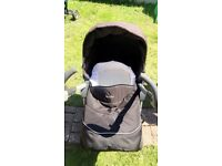 Silver cross pram and car seat set excellent condition from a smoke and pet from home.