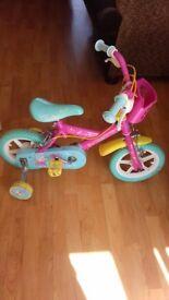 Peppa pig 12ince bike