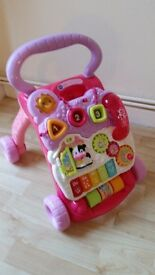 Push Along Baby Walker with Removable Activity Panel