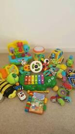 Baby/toddler toy bundle.