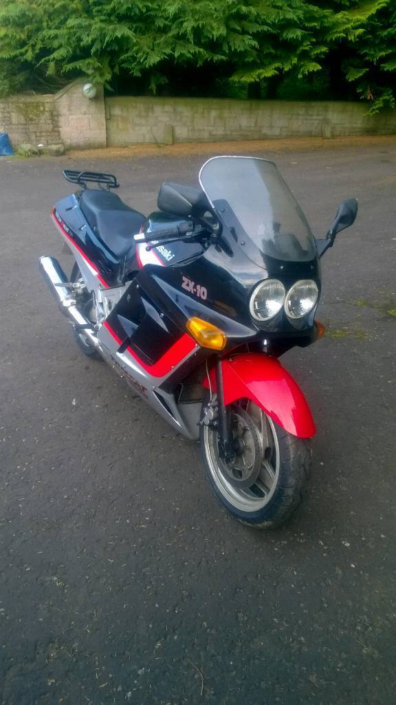 Kawasaki ZX 10 , Tomcat version , appreciating classic £975 | in Dundee |  Gumtree