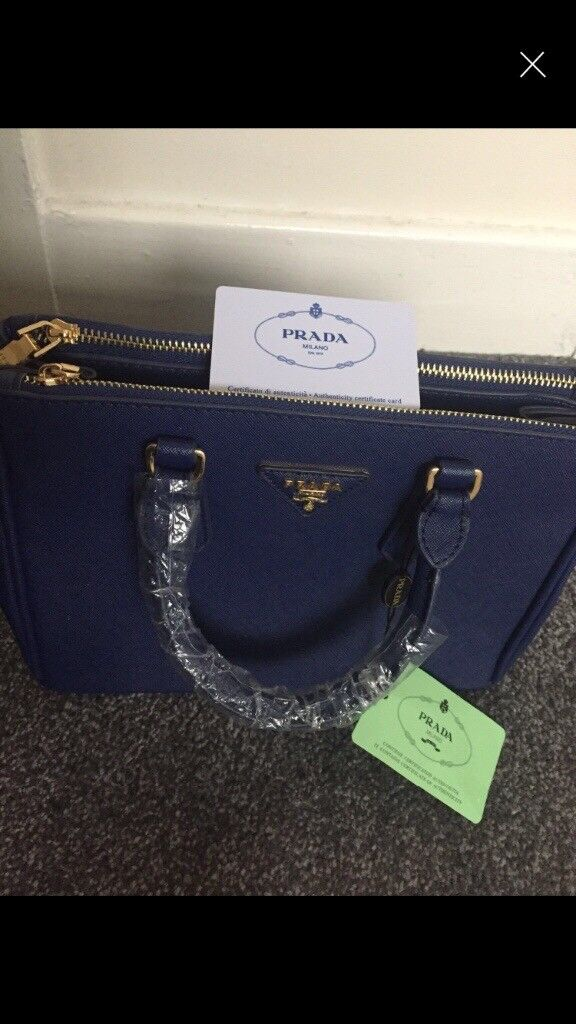040d35b8f1f7e8 Navy blue prada bag | in Blackburn, Lancashire | Gumtree