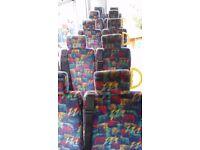 Minibus van double seats, £25 each Bargain!!!