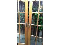 Double doors for conservatories or patios
