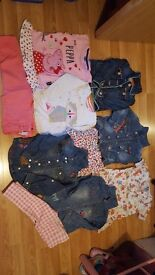 Bundle of girls clothes 18-24 mths