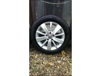 Volkswagen Golf alloys