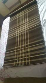 Brown rug/runner
