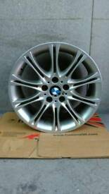 "Genuine Bmw 18"" Mv2 Front 8J Alloy Wheel"