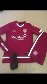 Arbroath football kit