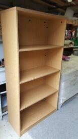 Excellent Quality Bookcase for home or office use, very strong and sturdy!