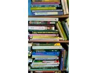 summer SALE ON ALL GARDENING, GARDEN LANDSCAPING, PLANNING BOOKS NOW 25 books for £10