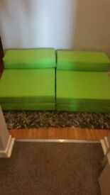 2 single futons SOLD