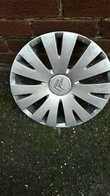 "Citroën 15"" wheel trim"