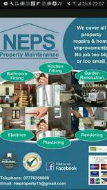 Neps property maintenance & refurbishments. One call does it all.