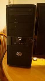 Desktop computer, 120gb SSD, AMD X2, 4GB RAM