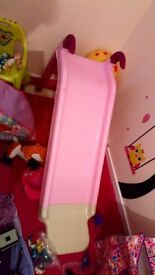 Pink slide for children up to age 5