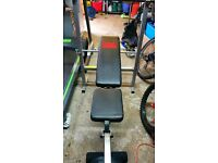 Weight Bench and weights PRO POWER