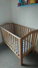 Cot for sale 3 different levels