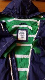 Mini Boden navy boys jacket age 9-10yrs