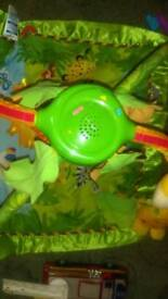 Fisher price jungle activity mat