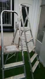 2x pairs of step ladders