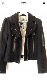 River Island boucle Jacket size 12