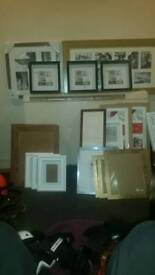 Large choice of picture frames
